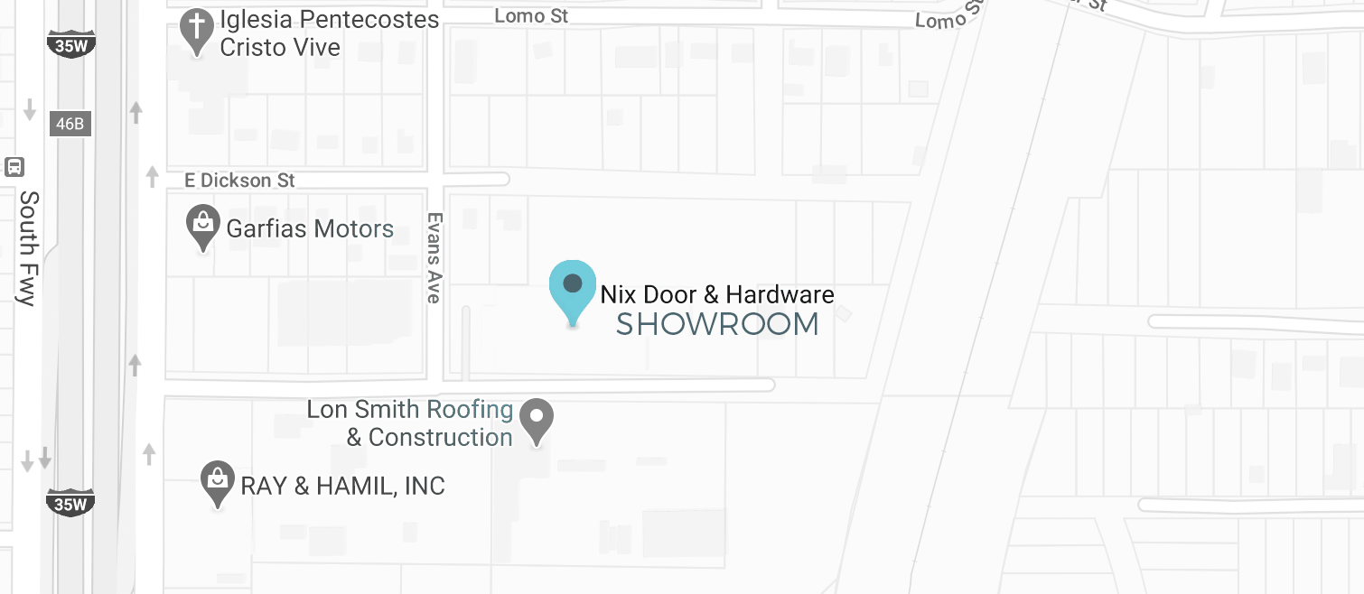 Nix Showroom location
